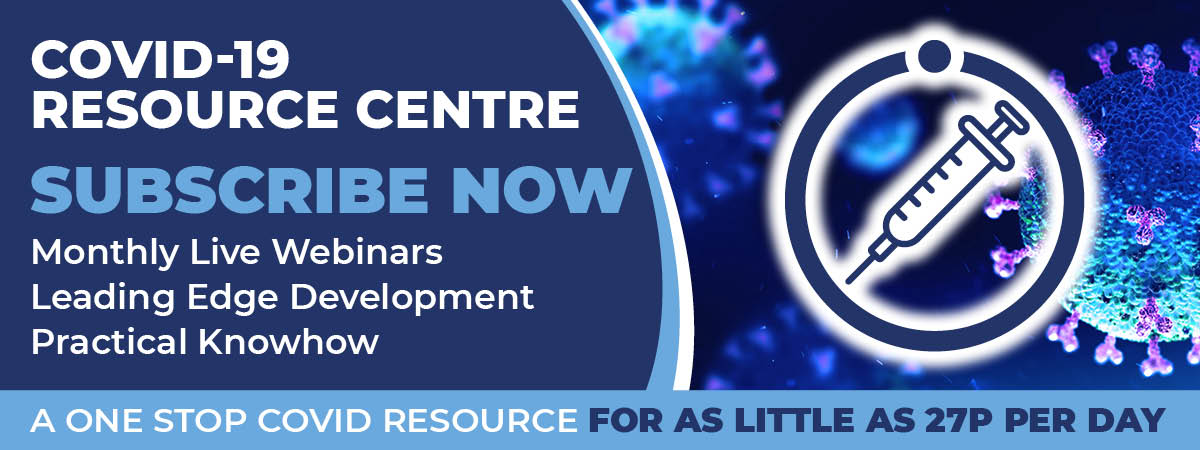 Covid-19 Resource Centre Now Available Banner