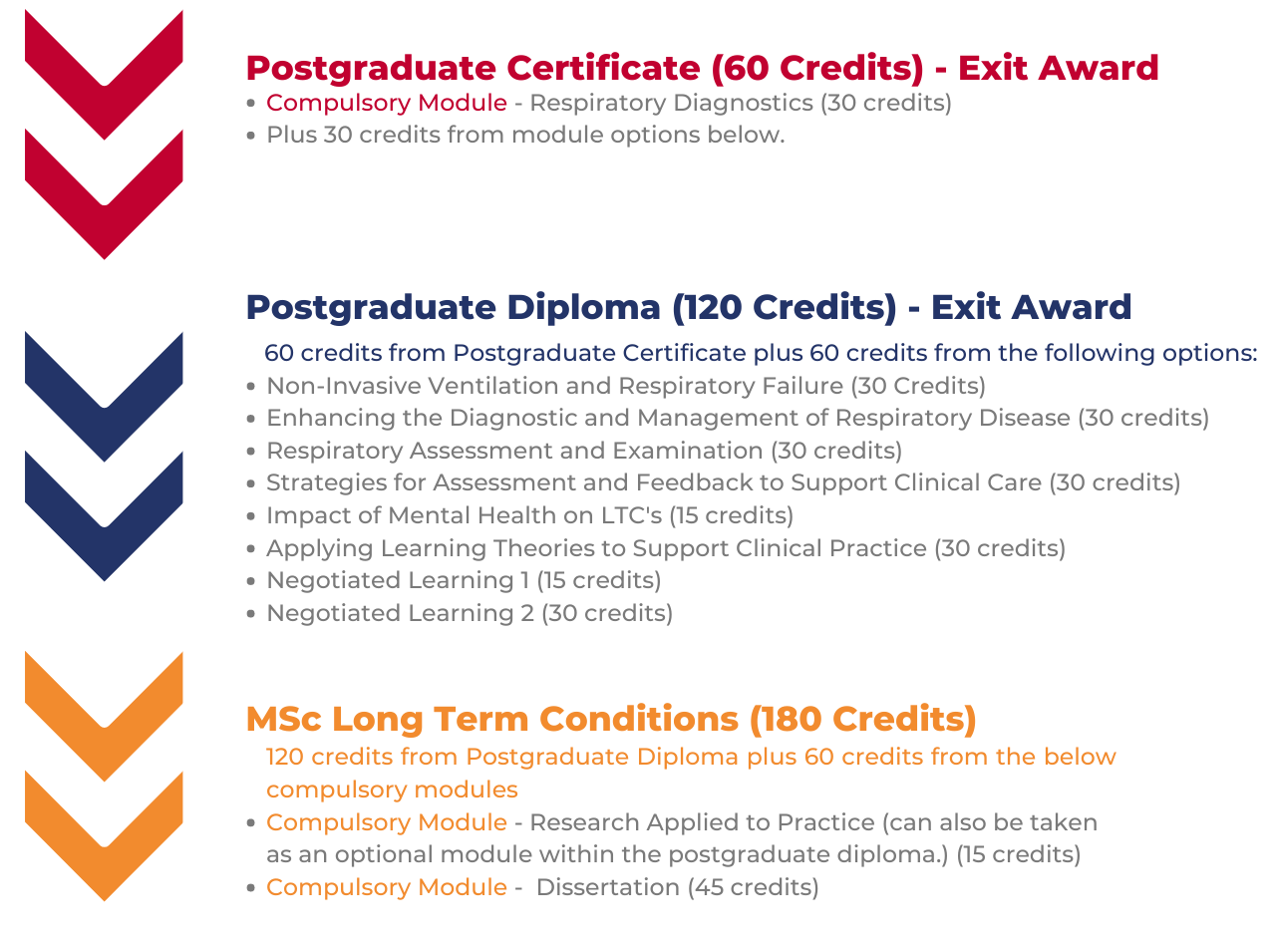 MSc Long Term Conditions pathway
